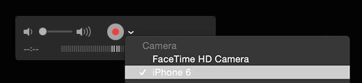 Quicktime iOS recording